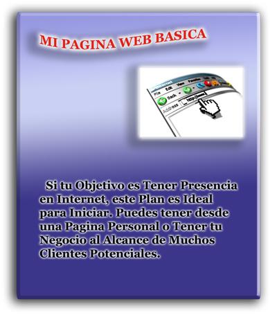 Mi pagina web Basica